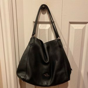 Black Coach bag (like new)
